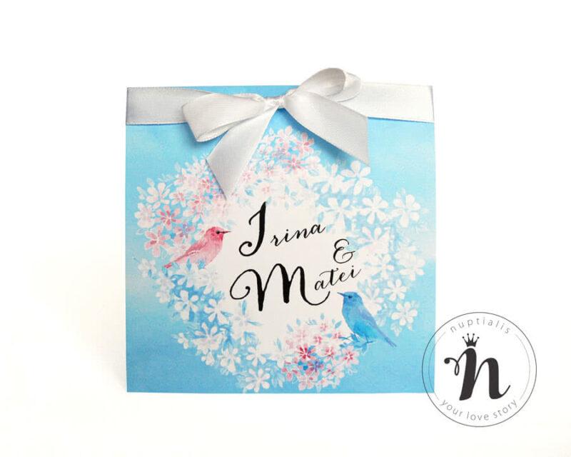 invitatii-nunta-romantice-cu-flori-si-pasarele-brigitta-01