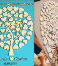 guestbook-nunta-copac-inimioare-tip-tablou-turcoaz-2