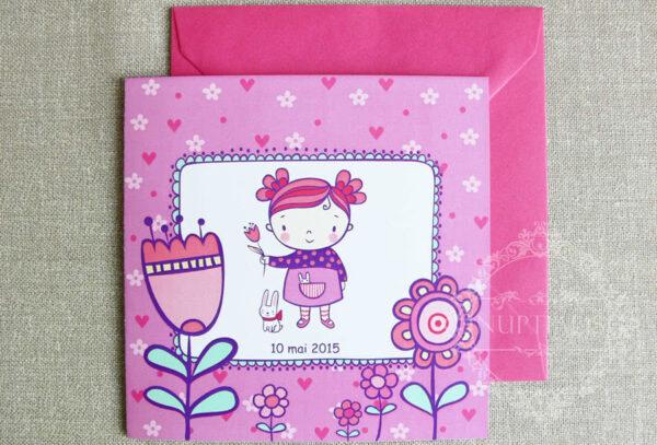 invitatii-botez-fete-cu-flori-si-iepuras-blossom-roz-05-b