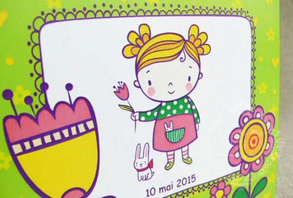 invitatii-botez-fete-cu-flori-si-iepuras-blossom-verde-04-b