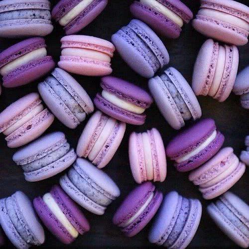 macaroons culoarea anului 2018 ultra violet
