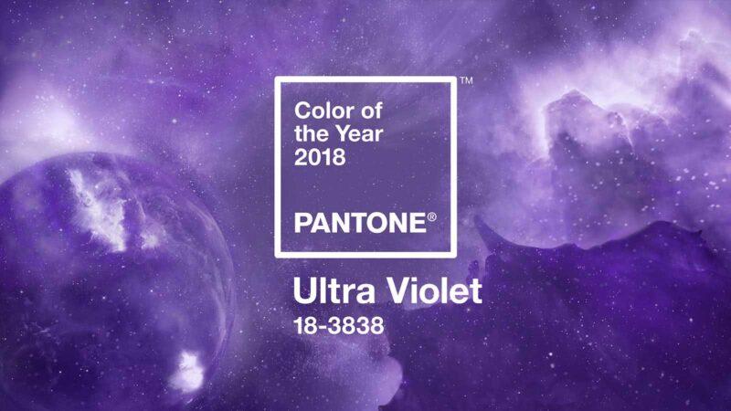 culoarea anului 2018 ultra violet