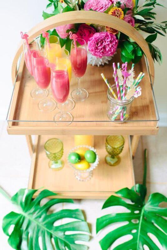 cocktailuri nunta tropicala