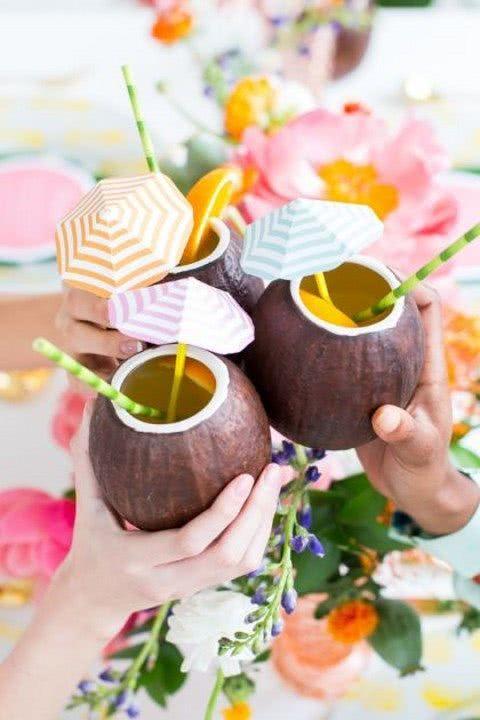 cocktail din nuca de cocos